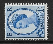 S91b 4d Wilding 8mm Violet Typo Crowns Left UNMOUNTED MINT/MNH
