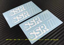 4 x SSR Wheel Spoke Sticker Decals Professor SP1 SP1R SP4 SP4R Free Shipping