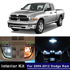 7x LED White Lights Interior Package Kit For 2009-2012 Dodge RAM 1500 2500 3500