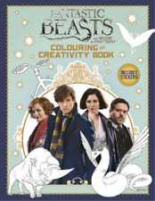 Fantastic Beasts and Where to Find Them: Colouring and Creativity Book (with sti