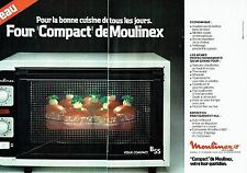PUBLICITE ADVERTISING 0217  1978  Compact de Moulinex (2p)  le four