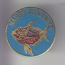 RARE PINS PIN'S .. SPORT PECHE FISHING FISH MAREE EQUINOXE POISSON EXOTIQUE ~DE