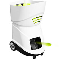 Portable Tennis Ball Machine Pitching Throwing Training Machine 150 Balls 6-8h