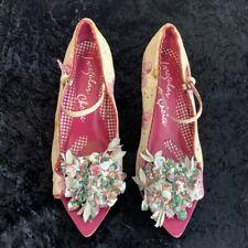 Irregular Choice Shoes Mary Jane Floral 6 ~ calling fashionistas & photographers