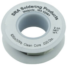 Leaded solder sra no clean flux core solder 63/37 0.5mm 66g reel