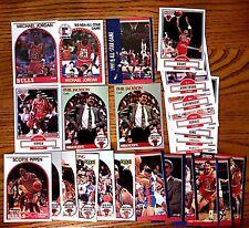 1990 1991 Chicago Bulls 25-Card Lot Jordan Pippen Jackson Rodman More.