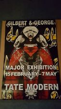 Gilbert & George 2 Signed Limited Edition posters Tate Modern 2012-Ismail