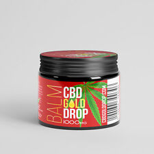 CBD Balm Cream - 1000mg Co2 Extracted - 100 % Natural Ingredients - GMP Standard