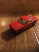 VINTAGE MATCHBOX LESNEY - MUSTANG FASTBACK - No:8 - RED/ORANGE - GOOD CONDITION