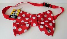 Disney - Minnie Mouse - Minnie Red & White Polka Dot Bow Belly Bag - Fanny Pack