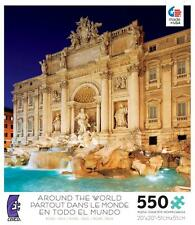 CEACO AROUND THE WORLD JIGSAW PUZZLE ROME, ITALY 550 PCS #2396-11 TRAVEL