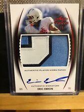 Eric Ebron Rookie Auto Jersey Patch 4/5‼️ 3 Color 🔥🔥 Leaf Trinity
