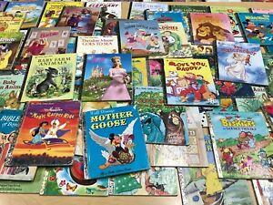 Little Golden Books Lot x10
