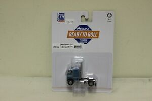 Athearn HO Scale RTR Freightliner Single Axle Cab Over w/Sleeper Teal #91124