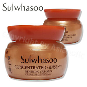 Sulwhasoo Concentrated Ginseng Renewing Cream EX 5ml (1pcs ~ 20pcs) Newist Ver