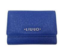 Liu Jo Damengeldbörse Kunstleder blau N65127e0087-94044