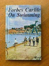 Forbes Carlisle on Swimming (Hardback, 1964) Australian swimming coach