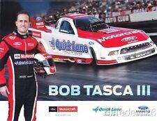 2014 Bob Tasca III Motorcraft Ford Shelby Mustang Funny Car NHRA postcard