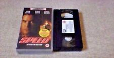 SPEED Special Edition Widescreen FOX UK PAL VHS VIDEO 1995 Keanu Reeves