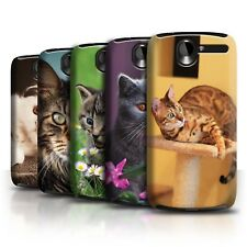 STUFF4 Back Case/Cover/Skin for HTC Desire G7/Popular Cat/Feline Breeds