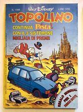 Topolino n.1588 * 4 maggio 1986 * Walt Disney - Mondadori