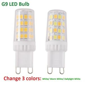 5pcs G9 LED Light Bulb 3W 5W 7W 9W Dimmable 110V 2835 SMD Tricolor Lamp Ceramics