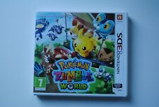 CONSOLE NINTENDO 3DS JEU POKEMON RUMBLE WORLD