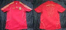 SPAIN ESPANA Euro 2008 FINAL vs GERMANY Home Shirt jersey ADIDAS adult SIZE XL