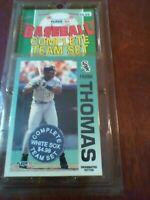 1992 Fleer Baseball Complete Team Set Chicago White Sox Factory Sealed Pack