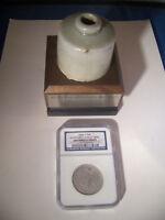 1860-O * NGC SS Republic SHIPWRECK Silver SEATED LIBERTY Half Dollar 50c INK POT