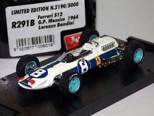 FERRARI 512 #8 MEXICO GP 1964 L. BANDINI BRUMM R291B 1:43