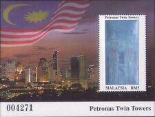 Malaysia 1999 Petronas Twin Towers M/S MNH