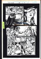 Josh Hood / Derek Fisher Original Comic Art Page Ghost Rider Issue 88 Page 5