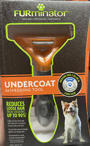 NEW FURMINATOR UNDERCOAT DESHEDDING TOOL  MEDIUM DOG