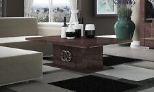 Couch- Sofa- Beistelltisch  Braun Modern Wohn-Ess-Speisezimmer aus Italien