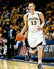 Henry Ellenson Autograph Signed photo 8x10 Marquette Golden Eagles Pistons
