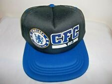 CHELSEA FOOTBALL CLUB SOCCER MESH SNAP BACK ADJUSTABLE HAT NEW WITH TAGS