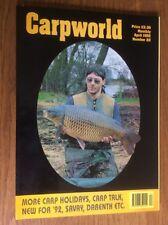 Carpworld Number 22 Magazine Carp Early Back issues