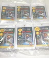 6 ULTRA-PRO ONE-TOUCH 35PT 55PT 75PT 100PT 130PT 180PT UV Protected Card Holders