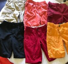 6 pair Total, Boys size 7 Cotton Shorts, TONY HAWK, OLD NAVY,  CHILDRENS PLACE