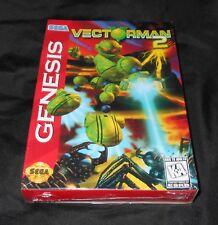 Vectorman 2 (Sega Genesis, 1996) - BRAND NEW + FACTORY SEALED!