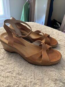 Dansko Women's Brown Sandals Sz 39 US 8.5