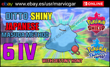 Masuda Method Japanese Ditto 6 IV with Destiny Knot - Pokemon sword and shield