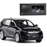 1:32 Honda CR-V SUV Die Cast Modellauto Spielzeug Sammlung Pull Back Schwarz