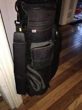 Datrek Black Golf Bag Lite W/ Grey Accents