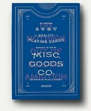 Misc Goods Co Blue Playing Cards Deck New