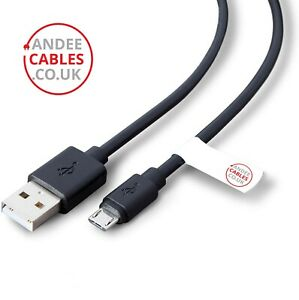 USB MICRO CABLE LEAD andee cables 0.5m to 5m for ANDROID XBOX  PS4