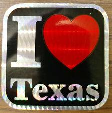 I Love Texas Sticker (New)