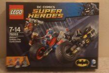 LEGO SUPER HEROES DC COMICS - BATMAN GOTHAM CITY CYCLE CHASE  Ref 76053