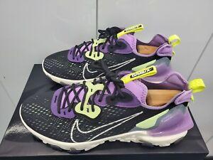 Nike React Vision DMSX - Black/Dark Smoke Grey/Gravity Purple/Sail - Size 10